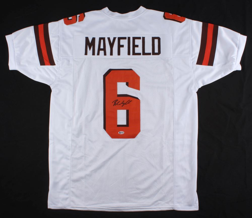 buy online 3916d a282b Baker Mayfield Signed Cleveland Browns Jersey (Beckett COA)