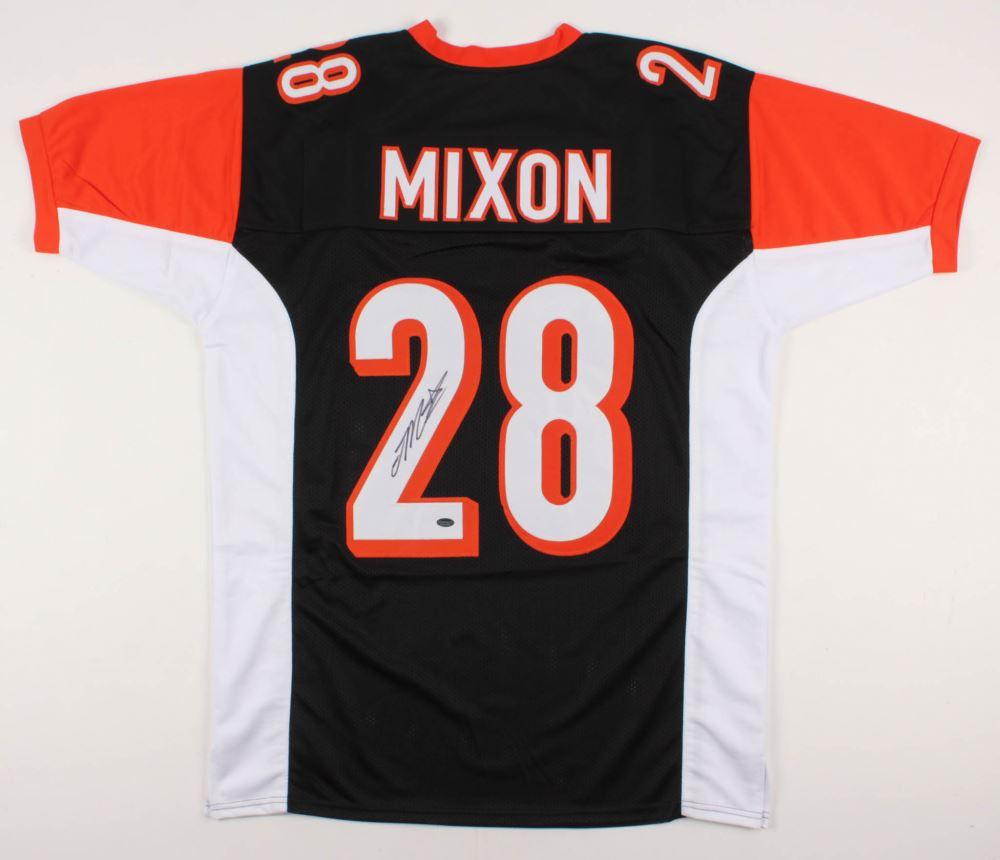 huge selection of ef5ba ec877 Joe Mixon Signed Cincinnati Bengals Jersey (Schwartz COA)