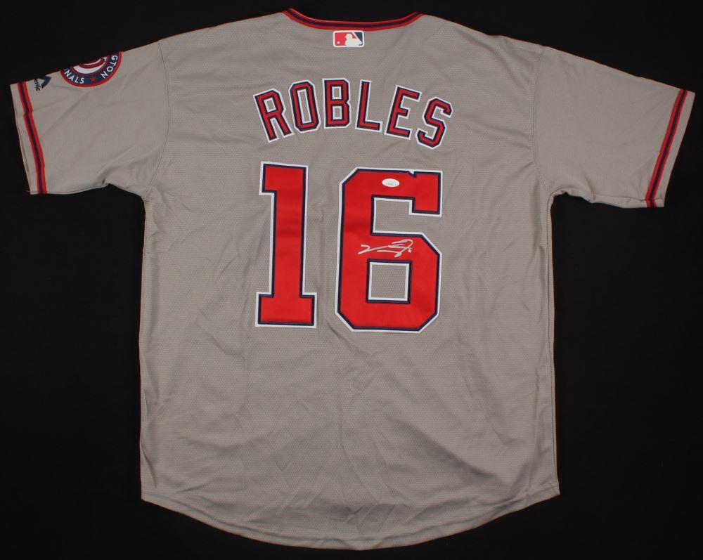 finest selection 76603 43706 Victor Robles Signed Washington Nationals Jersey (JSA COA)