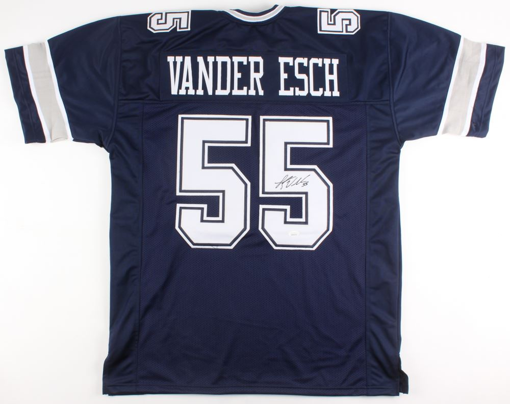 sports shoes 1a9e6 7754d Leighton Vander Esch Signed Dallas Cowboys Jersey (JSA ...