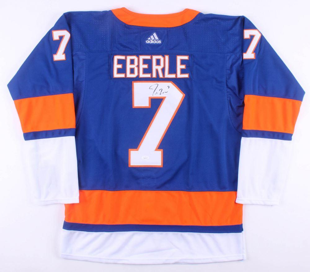 more photos e2557 9797f Jordan Eberle Signed New York Islanders Jersey (JSA COA)