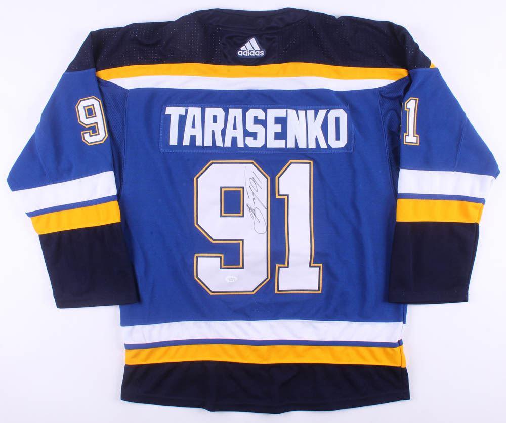 detailed look c702d 68d28 Vladimir Tarasenko Signed St. Louis Blues Jersey (JSA COA)