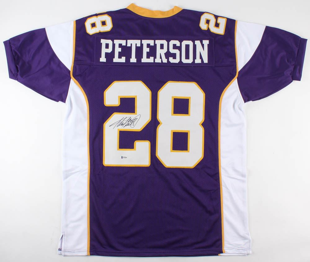 new product 99c5d a1008 Adrian Peterson Signed Minnesota Vikings Jersey (Beckett ...