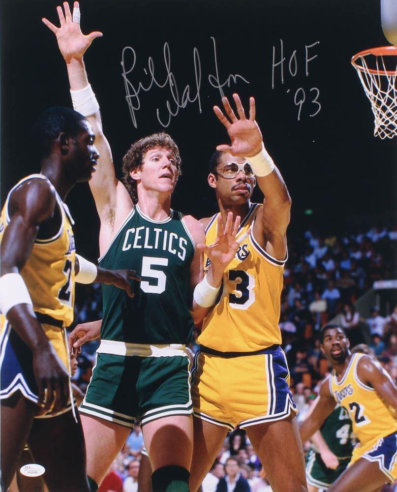 best website 035a4 b47e8 Bill Walton Signed Boston Celtics 16x20 Photo Inscribed