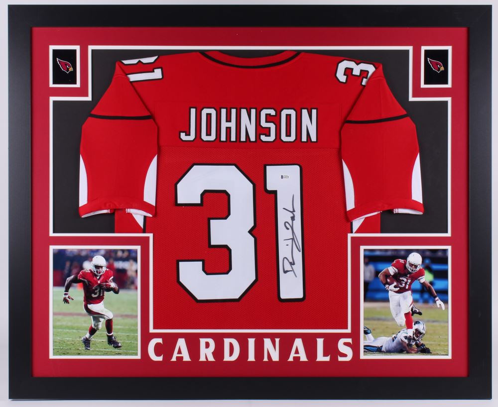 new product 8fd94 d91bc David Johnson Signed Arizona Cardinals 35x43 Custom ...
