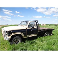 1985 Ford F-250 pickup with HydraBed