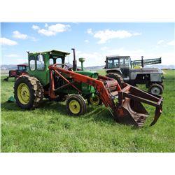 John Deere 4010 tractor w/DuAl 320 loader