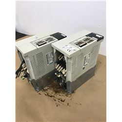 (2) MITSUBISHI MR-J2-200CT SERVO DRIVE UNIT