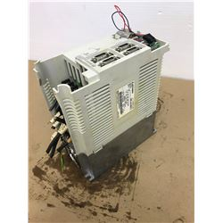 MITSUBISHI MR-J2-2OOCT SERVO DRIVE UNIT * CAP IS MISSING FROM THE UNIT, SEE PHOTOS*