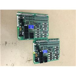 (2) MAZAK HR353B CIRCUIT BOARD