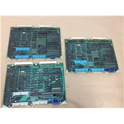 (3) MITSUBISHI FX52A CIRCUIT BOARD *SEE PICS FOR PART #s*