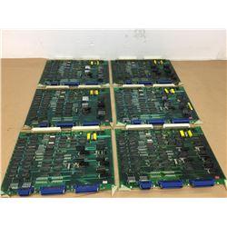 (6) Mitsubishi FX63A BN624A241H02 w/ FX63C BN624A546H01 Circuit Boards