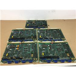 (5) Mitsubishi Circuit Board ** SEE PICS FOR PART NUMBERS**