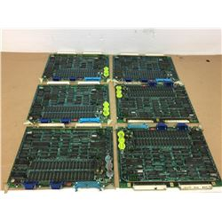 (6) Mitsubishi FX27B Circuit Board