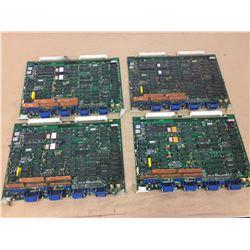 (4) Mitsubishi FX361A Circuit Board