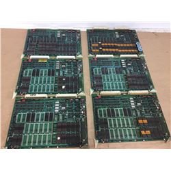 (6) Mitsubishi FX84A Circuit Boards