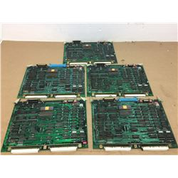 (5) Mitsubishi FX01B Circuit Boards