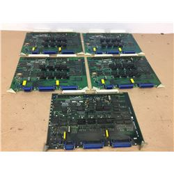 (5) Mitsubishi FX53 Circuit Boards