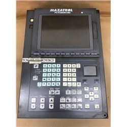 Mazatrol 640 Control Panel w/FCA635MNY-NF Numerical Control Unit and FCU6-HD242-3 HDD Unit