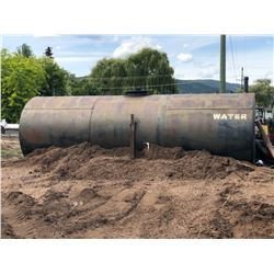 5000 GALLON WATER TANK WITH ACCESS HATCH