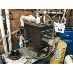 SMITH MEASUREMIX MODEL R-6 WATER TREATMENT INJECTOR UNIT WITH STAND