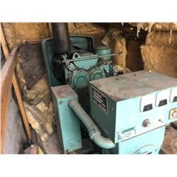 BENNETT & EMMOTT GENERATOR SET, 50 KVA, 1 OR 3 PHASE, 40 KW, SKID MOUNTED, VIEW INFO PLATE IN
