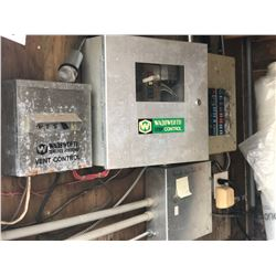 CONTROL PANELS INC. WADSWORTH STEP 50A CONTROLLER BOX, RELAYS, BREAKER PANELS AND MORE