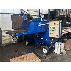 S.B. MACHINERIE PLANTER SOIL PRESS/FILLER MACHINE WITH CONVEYOR BELT AND ROLLERS, SEE VIDEO