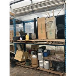 CONTENTS OF MIDDLE BAY OF RACKING INC. DECORATIVE POTS, PLANTERS, BASKETS AND MORE