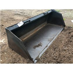 78 UTILITY BUCKET FOR BOBCAT, APPROX. 6' WIDE