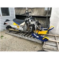 SKI-DOO HILL CLIMB EDITION, 159'', FRAME NEEDS REPAIRS