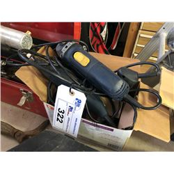 BOX OF ELECTRIC TOOLS