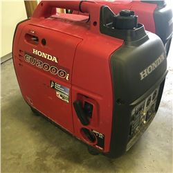 HONDA EU2000I INVERTER GAS POWERED GENERATOR
