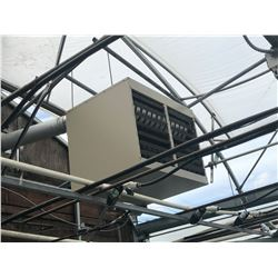LENNOX MODEL LF24-400A-5 DUAL FAN GAS POWERED HEAT UNIT, COMES WITH PIPING TO FIRST JOINT, 120