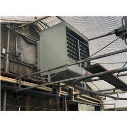 MODINE DUAL FAN GAS POWERED HEAT UNIT WITH FLOW TUBE