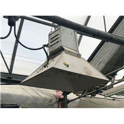 BELL LIGHTING TECHNOLOGIES 347 VOLT 3 PHASE METAL HALLIDE LIGHT FIXTURE