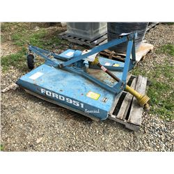 FORD 951 FLAIL MOWER ATTACHMENT