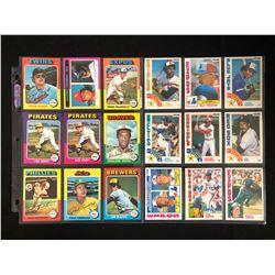 1970 80s Baseball Card Lot
