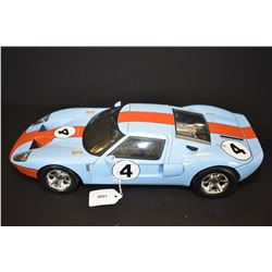 """Motormax 1: 12 scale die cast Ford GT with opening doors and engine compartment, 15"""" in length"""