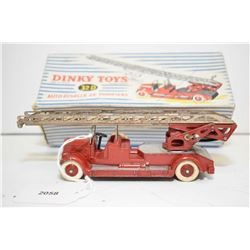 """French made Dinky """"Delahaye Fire truck"""" No. 32D in near mint condition with original box"""