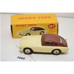 """Dinky toy """"A.C. Aceca"""" No.167 in good condition with original box"""