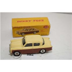 """Dinky toy """"Singer Gazelle"""" No. 168 in good condition with original box which is missing end flaps"""