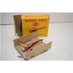 """Dinky toy """"Westland/Sikorski S. 51 helicopter"""" No. 716 in mint condition with original box"""