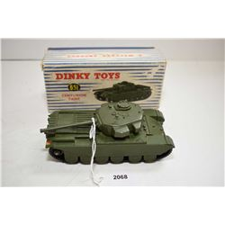"""Dinky toys """"Centurion Tank"""" No.651 in good condition with original box"""