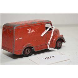 """Early Dinky Toys """"Trojan Esso Van"""" in fair condition"""