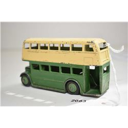 Dinky toys double Decker bus in fair condition