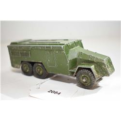"""Dinky toys """"Armoured Command Vehicle"""" No. 677 in fair condition"""