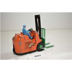 """Dinky Toys """"Conventry Climax"""" forklift truck in fair condition"""