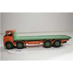 "Dinky Super Toys ""Foden flat deck"" note broken A pillar"