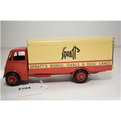 """Dinky Super Toys """"Guy Spratts Bonio, Ovals and Dog Cakes"""" van in good condition"""